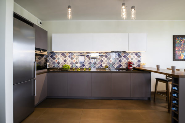 Koša Arens virtuve ar pussalu