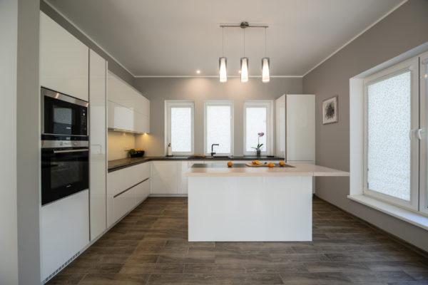 Gaiša Arens virtuve ar salu 2