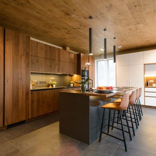 Koša Arens virtuve ar salu
