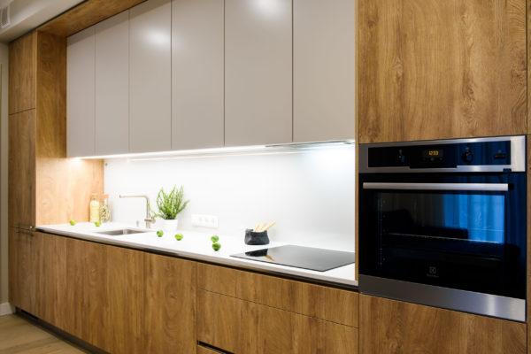 Koša Arens vienas rindas virtuve