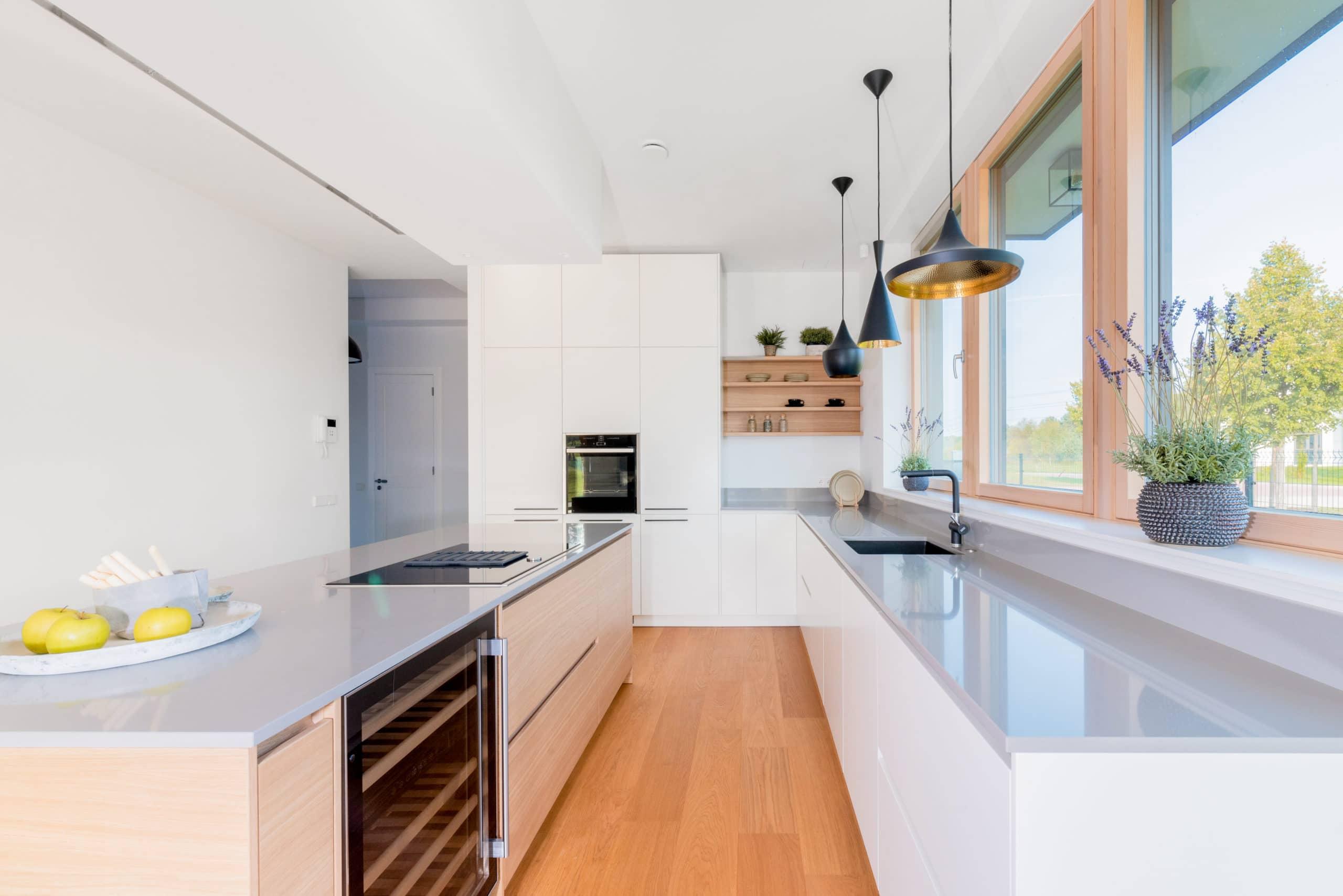 Virtuves zonas plānošana būvējot savu māju